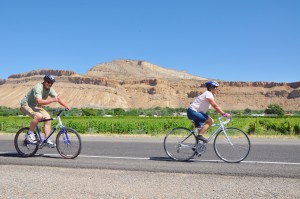 Road Biking in Palisade, Colorado