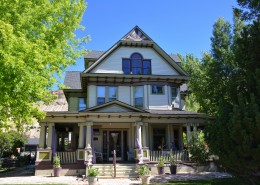 Victorian houses in Palisade, CO