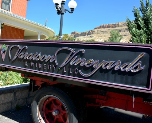 Vineyards and Winerys in Palisade Colorado