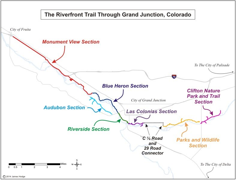 Trails in Grand Junction, CO