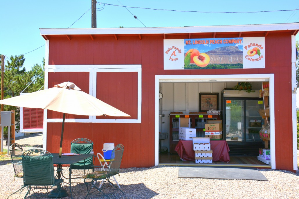 Mt. Lincoln Peach Co. in Palisade, Colorado