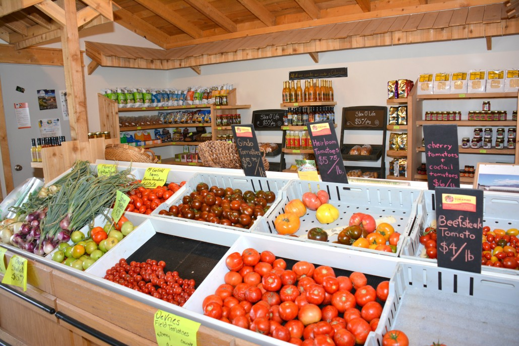 Organic Fruit grown in Palisade Colorado
