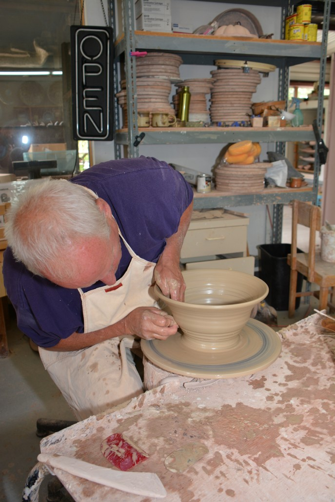 Wedel Pottery in Palisade CO