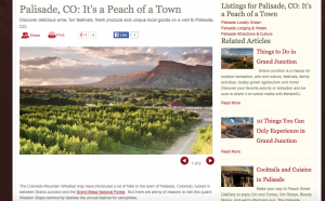 Things to do in Palisade, CO